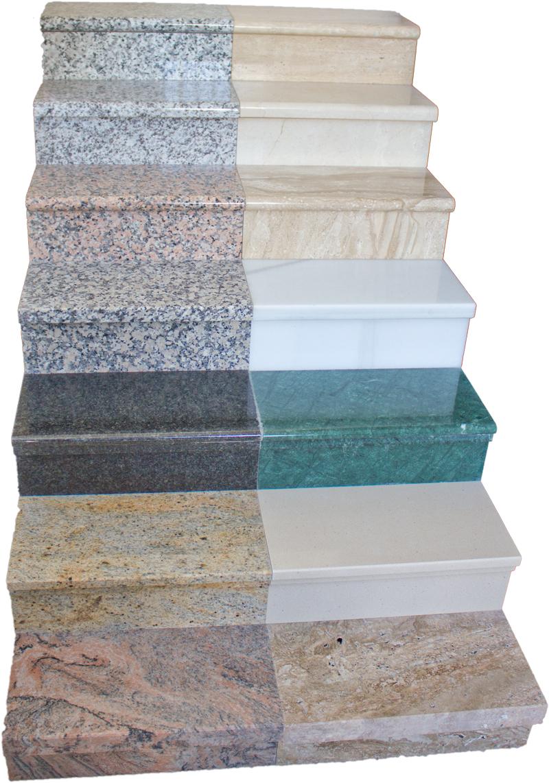 Escaleras granitos y m rmoles marmoles nerja encimeras for Marmoles y marmoles